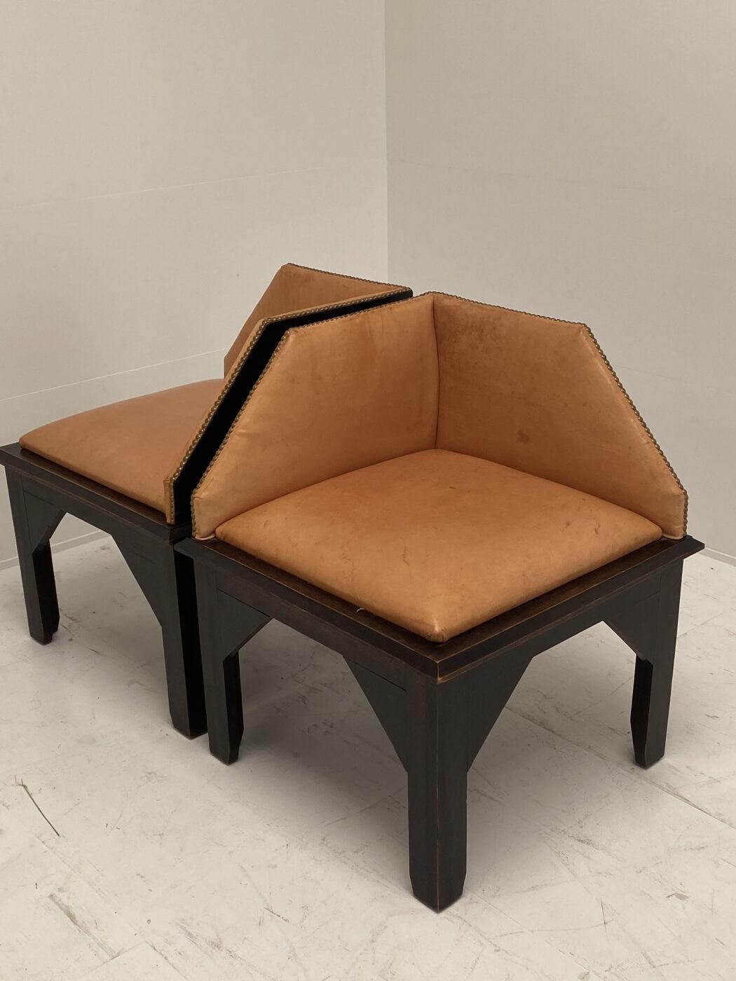Pair of Corner Chairs